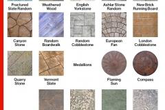 Concrete Stamps